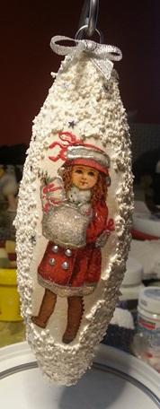 Christbaumschmuck- polnische Weihnachtsdekoration aus Styropor
