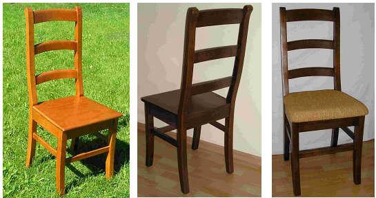 holzst hle eichenst hle st hle aus massiven eichenholz. Black Bedroom Furniture Sets. Home Design Ideas