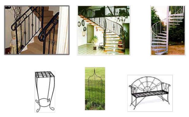 kunstschmied und schlosser in polen polnische metallgartenm bel. Black Bedroom Furniture Sets. Home Design Ideas