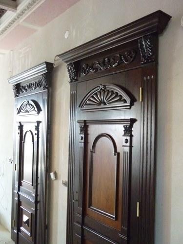 antike Holztür von Restaurationswerkstatt in Polen